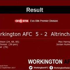 Reds v. Altrincham - Tue 12 Sep 2017