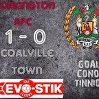 Reds v. Coalville Town - Sat 7 Oct 17