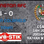 Reds v. Sutton Coldfield Town - Sat 21 Oct 2017