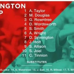 Reds v. Witton Albion - Sat 28 Oct 2017