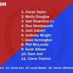 Reds v. Stourbridge - 2 Dec 17