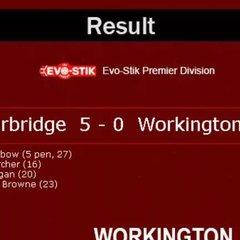 Stourbridge v. Workington AFC - Sat 29 November 2016