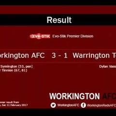 Reds v. Warrington Town