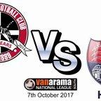 Truro City FC v Hampton and Richmond Borough FC - 7th October 2017