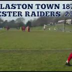 Worcester Raiders 23 February