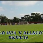 Darlaston vs Allscott 6 April