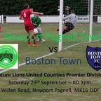 VS Boston Town - Match Highlights from 29th Sept 2018