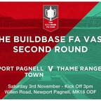 VS Thame Rnagers (FA Vase 2nd Round) - Match Highlights from 29th Sept 2018