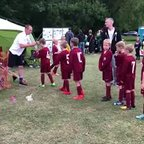 Under 8's Comets Cup Presentation