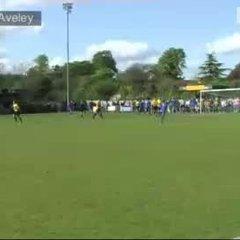 GOAL: East Thurrock 2-2 Aveley (Richard Ketchell)
