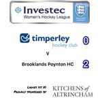 Ladies 1 v Brooklands Poynton 1 -  10.2.18