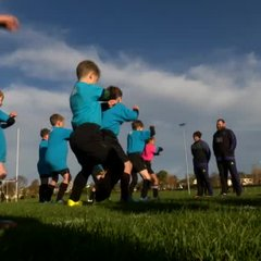 RTE news coverage of All Blacks Visit to Seapoint