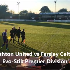 Highlights: Ashton United 1-1 Farsley Celtic
