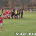 Dave Gabe 2nd Half Try OMT Nov 18