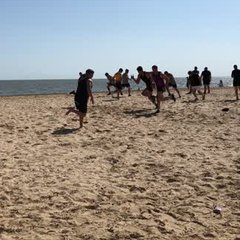 Senior Beach Training