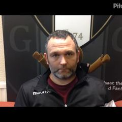 Grantham Town v Marine - post match interview with Grantham Town Assistant Manager Danny Martin