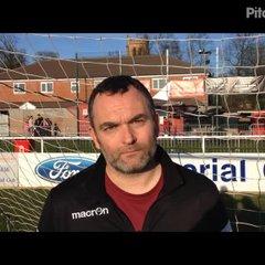 26-3-2017 - Stourbridge v Grantham Town - Grantham Town Assistant Manager Danny Martin