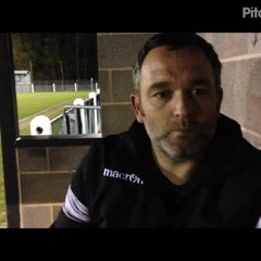 11-4-2017 - Coalville Town v Grantham Town - post match interview with Grantham Town Assistant Manager Danny Martin