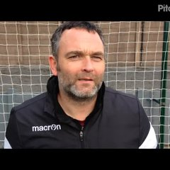 15-4-2017 - Buxton v Grantham Town - Grantham Town Assistant Manager Danny Martin