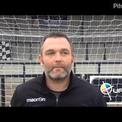 17-4-2017 - Corby Town v Grantham Town - Grantham Town Assistant Manager Danny Martin
