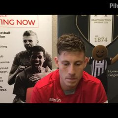 7-10-2017 - Grantham Town V Stafford Rangers - post match interview with Grantham Town's Andy Wright