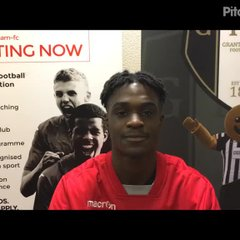 17-10-17 - Grantham Town v Lincoln United - post match interview with Kevin De Bastos Silva