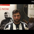 16-12-2017 - Grantham Town v Buxton - Post Match Interview with Tom Batchelor