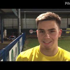 6-1-2018 - Halesowen Town v Grantham Town - post match interview with Jack McMenemy