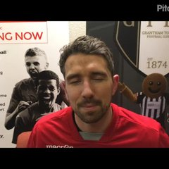 3-2-2018 - Grantham Town v Witton Albion - Post Match Interview with Rhys Lewis