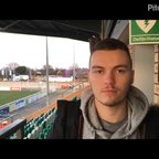 24-2-2017 - Nantwich Town v Grantham Town - Post match interview with Luke Shaw