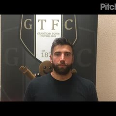 31-7-2018 - Grantham Town v Corby Town - post match interview with Tom Batchelor