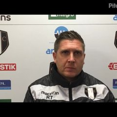 24-11-2018 - Grantham Town v North Ferriby United - post match interview with Richard Thomas