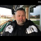 23-3-2019 - Nantwich Town v Grantham Town - post match interview with Grantham Town Manager Paul Rawden