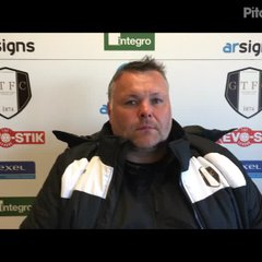 13-4-2019 - Grantham Town v Farsley Celtic - Post match interview with Grantham Town Manager Paul Rawden