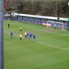 Jonathan Williams scores penalty for Belper 1-0
