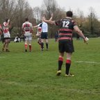 George Cook's try