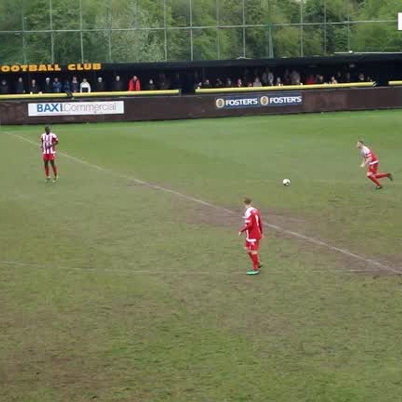 First Team lose to Stourbridge 0 - 2