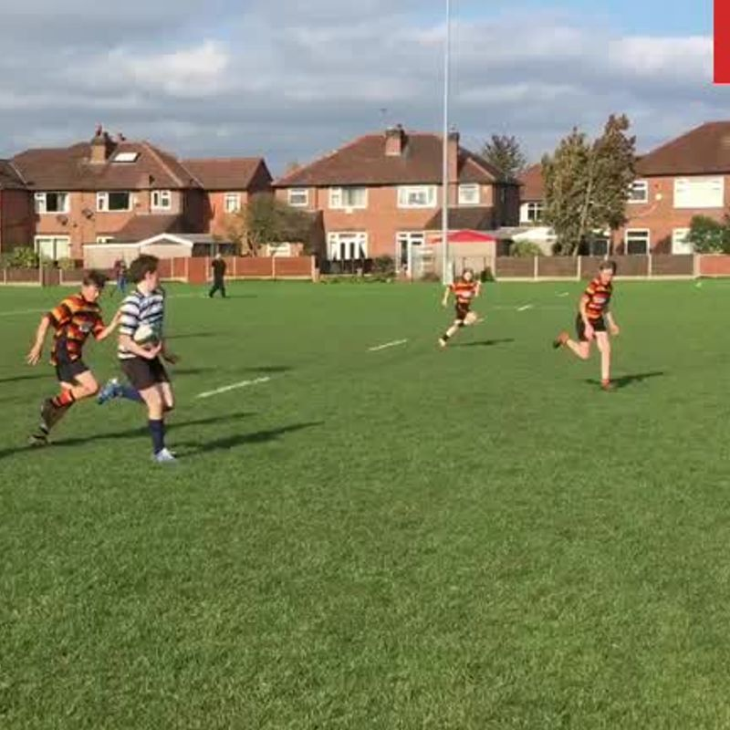 Under 13s lose to Wigan RUFC 35 - 40