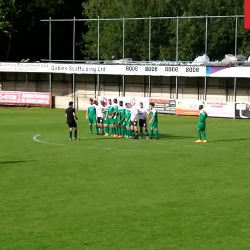 First Team lose to Bamber Bridge 3 - 2
