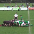 Cutbush try against London Irish Wild Geese