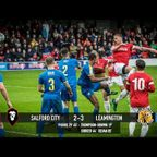 Salford City 2-3 Leamington - National League North 07/10