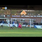 Jake Robinson scores | Hungerford Town vs Billericay Town | FA Trophy | 25.11.2017