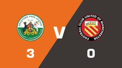 Bradford Park Avenue vs FC United Of Manchester Match Highlights  (Sat 19th August 2017)