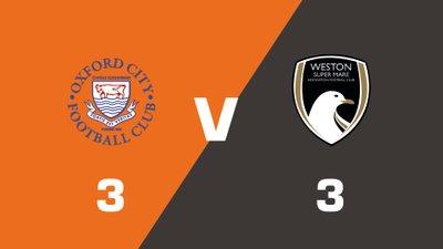 Highlights: Oxford City vs Weston-Super-Mare