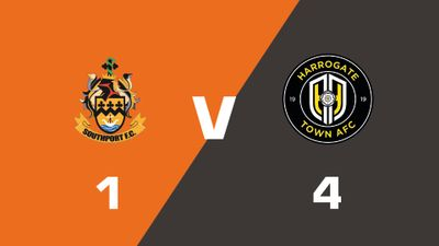 Highlights: Southport vs Harrogate Town