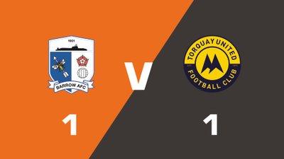 Highlights: Barrow vs Torquay United
