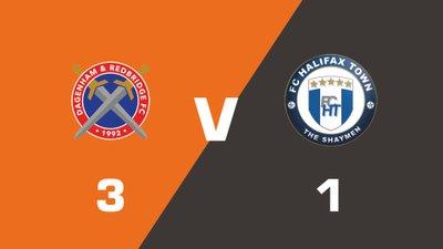 Highlights: Dagenham and Redbridge vs FC Halifax Town