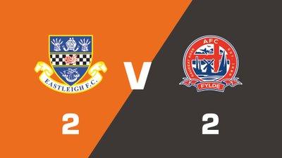 Highlights: Eastleigh vs AFC Fylde