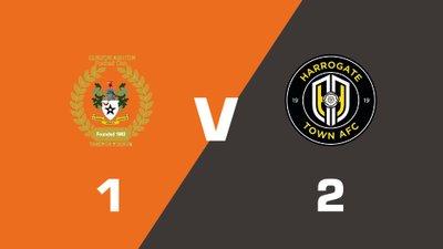 Highlights: Curzon Ashton vs Harrogate Town