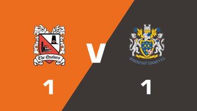 Highlights: Darlington vs Stockport County